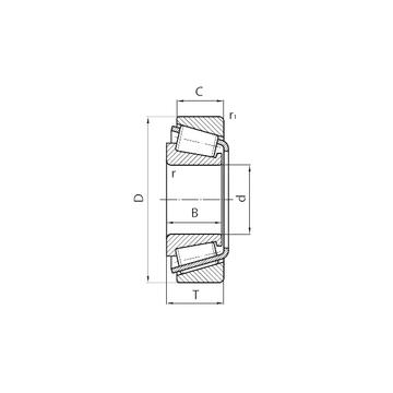 BT1-0516 SKF Tapered Roller Bearings
