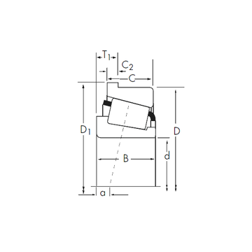 442-S/432-B Timken Tapered Roller Bearings