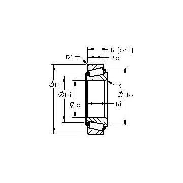 JM720249/JM720210 AST Tapered Roller Bearings