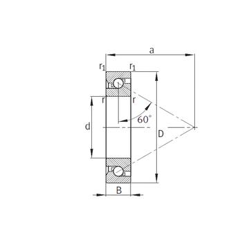 7603060-TVP FAG Thrust Ball Bearings