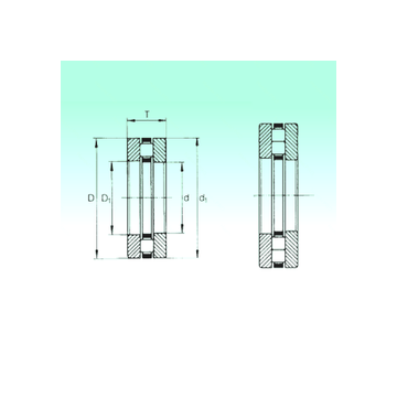 89312TN NBS Thrust Roller Bearings