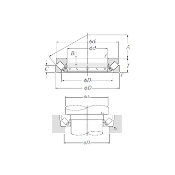 29430 NTN Thrust Roller Bearings