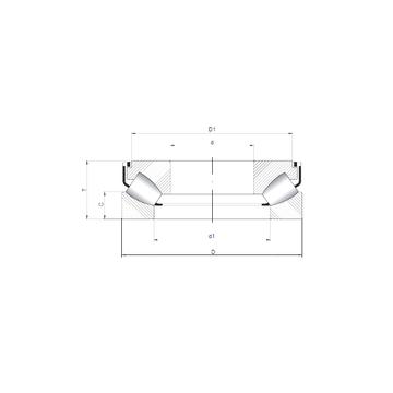 29368 M ISO Thrust Roller Bearings