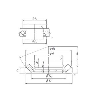 29472R KOYO Thrust Roller Bearings