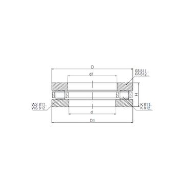 81112 CX Thrust Roller Bearings