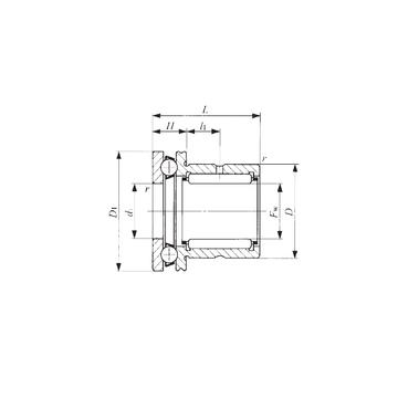 NAX 4032Z IKO Complex Bearings
