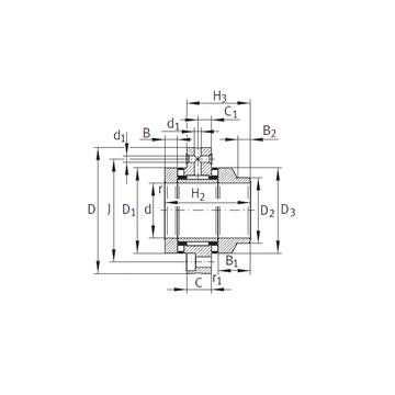 ZARF90210-L-TV INA Complex Bearings