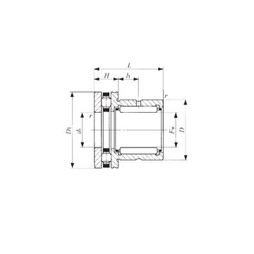NBX 3530 IKO Complex Bearings