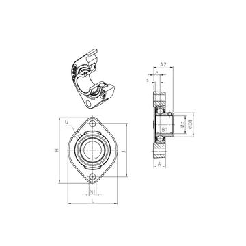 USFD207M100 SNR Bearing Units