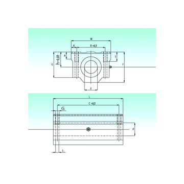 SCW 40-UU AS NBS Linear Bearings