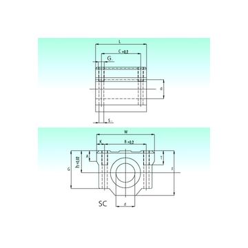 SC 13-UU NBS Linear Bearings