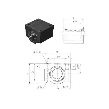 SCE20-B Samick Linear Bearings