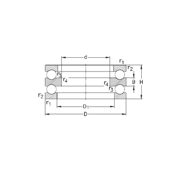 52328-MP NKE Thrust Ball Bearings