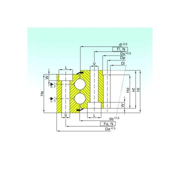 ZB2.30.1613.400-1SPPN ISB Thrust Ball Bearings