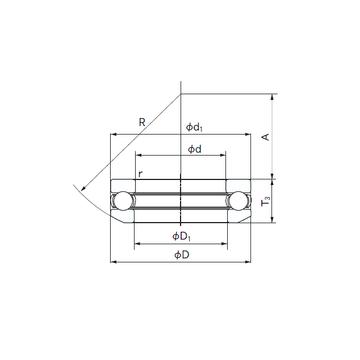 53417 NACHI Thrust Ball Bearings