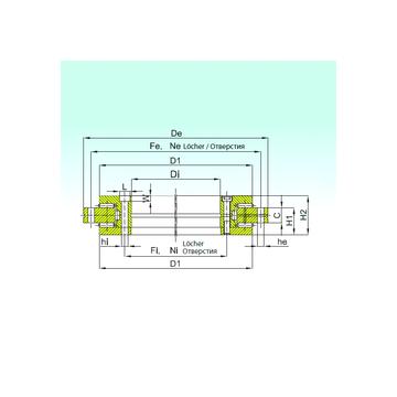YRTS 395 ISB Thrust Roller Bearings