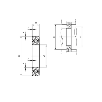 CRBC 10020 IKO Thrust Roller Bearings