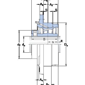 FYRP 3 15/16 SKF Bearing Units