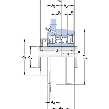FYRP 2 7/16-18 SKF Bearing Units