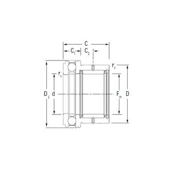 NAXK30 KOYO Complex Bearings