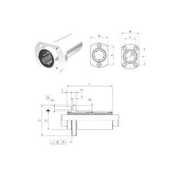 LMHP12LUU Samick Linear Bearings