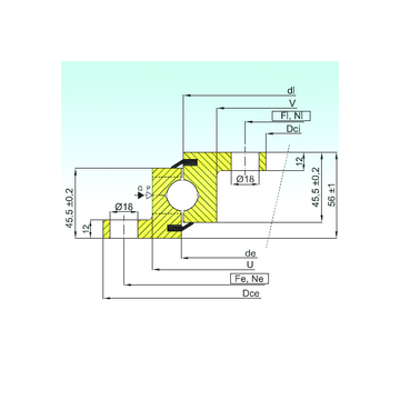 NBL.20.1094.201-2PPN ISB Thrust Ball Bearings
