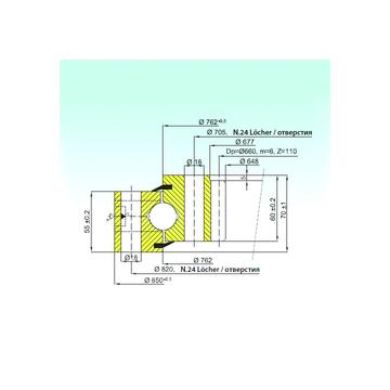 ZB1.25.0762.200-1SPPN ISB Thrust Ball Bearings