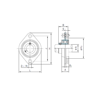 BPFL6 NACHI Bearing Units