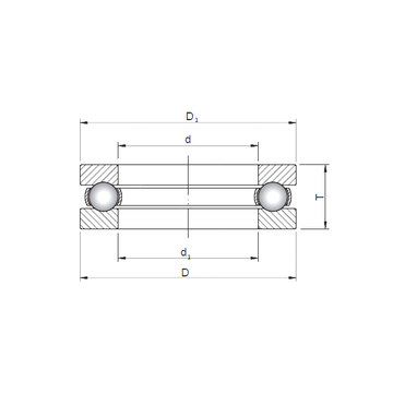 51203 CX Thrust Ball Bearings