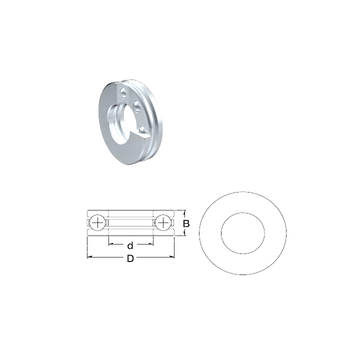 51209 ZEN Thrust Ball Bearings