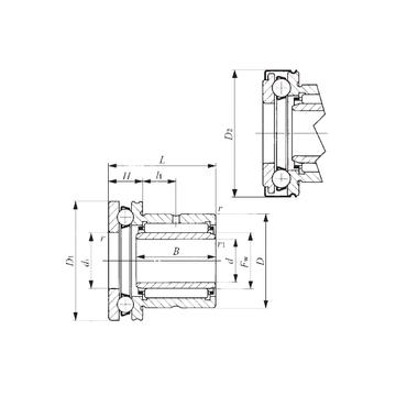 NAXI 3030Z IKO Complex Bearings