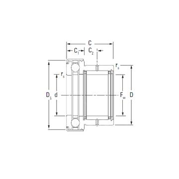 NAXK40Z KOYO Complex Bearings