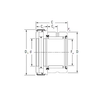 RAXZ 515 KOYO Complex Bearings #1 small image