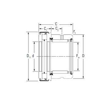 RAXZ 517 Timken Complex Bearings