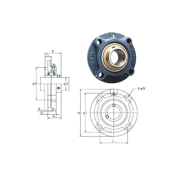 UCFCX07 FYH Bearing Units