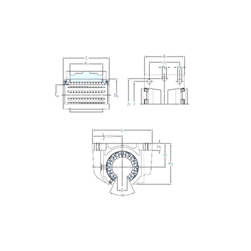 LUCT 30 BH SKF Linear Bearings