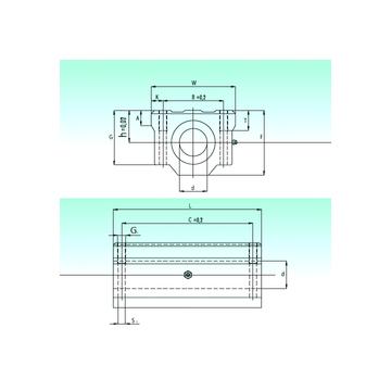 SCW 08-UU NBS Linear Bearings