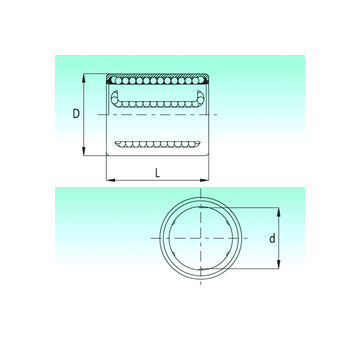 KH2030-PP NBS Linear Bearings #1 small image