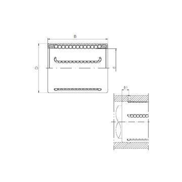 KH1428PP CX Linear Bearings #1 small image