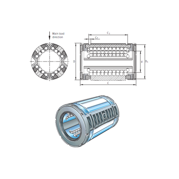 KS20 INA Linear Bearings #1 small image