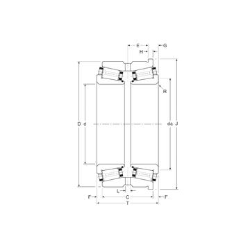 124070/124112XH Gamet Tapered Roller Bearings