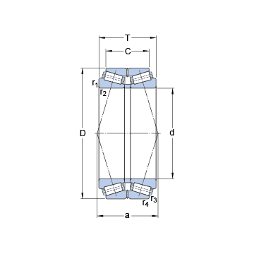 331291 B SKF Tapered Roller Bearings