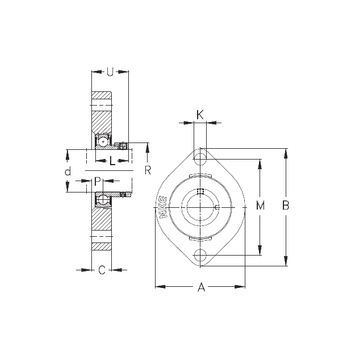 FLCTE40 NKE Bearing Units