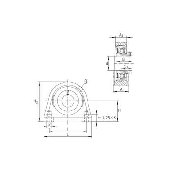 PSHEY15 INA Bearing Units