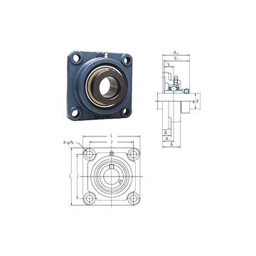 NANF203 FYH Bearing Units #1 small image
