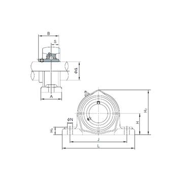 UCPK211 NACHI Bearing Units