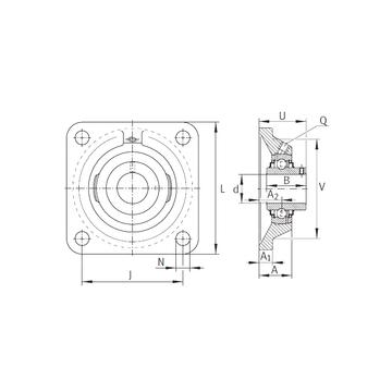 RCJY5/8 INA Bearing Units