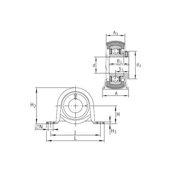 RPB25 INA Bearing Units