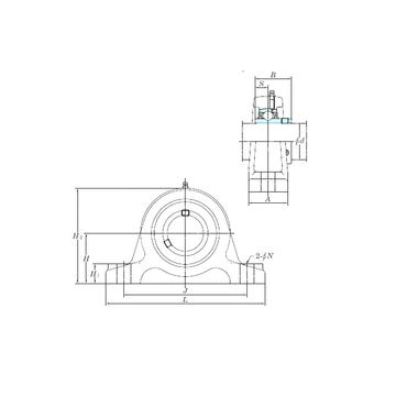 UCIP208-25 KOYO Bearing Units