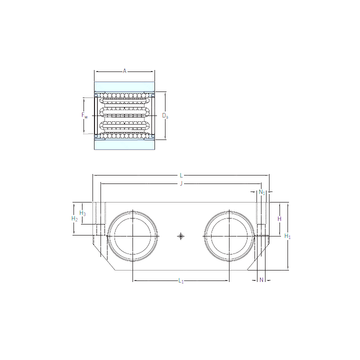 LTDR 20-2LS SKF Linear Bearings